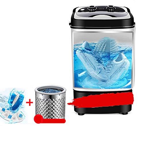 Qinmo Inteligente máquina de Lavado de Calzado Completamente automática de Hogares portátil Lavadora automática Lazy Compacto pequeño Lavadora (Color : B)