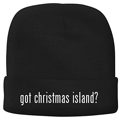 BH Cool Designs got Christmas Island? - Men's Soft & Comfortable Beanie Hat Cap, Black, One Size