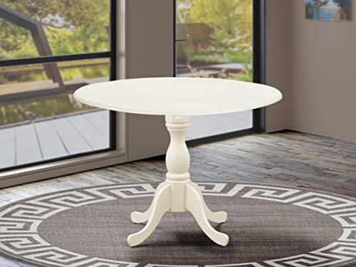 East West Furniture DMT-LWH-TP Dining Table, 42