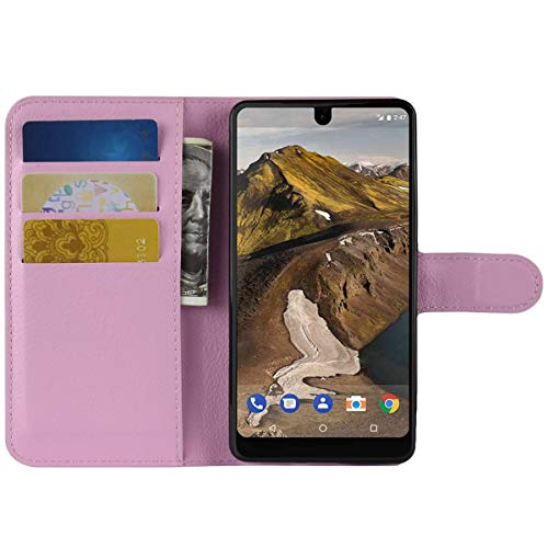 HualuBro Moto G3 Hülle, Leder Brieftasche Etui Lederhülle Tasche Schutzhülle HandyHülle [Standfunktion] Handytasche Flip Hülle Cover für Motorola Moto G 3. Generation, Moto G3 (Pink)