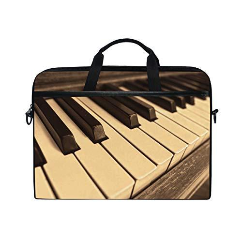 Montoj Piano Keys - Bolsa para ordenador portátil de 15 pulgadas