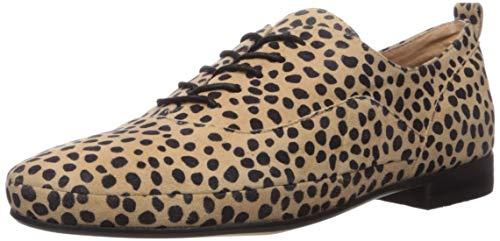 CC Corso Como Women's Jasleen Loafer Flat, Tan/Black, 10 Medium US