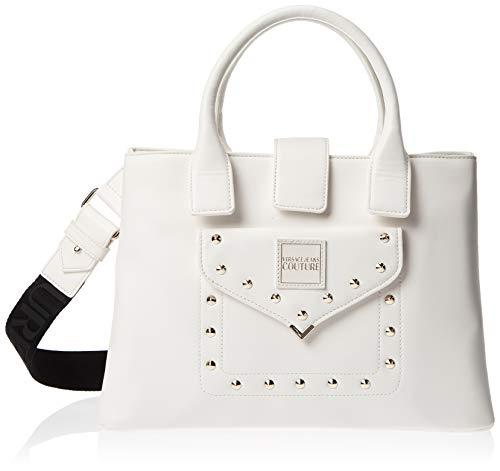 Versace Jeans Cuture Handtasche, weiß, mit Taschen