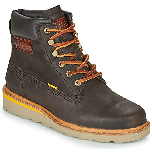 Caterpillar Jackson Hi Ankle Boots/Boots Men Brown - 7 - Mid Boots Shoes
