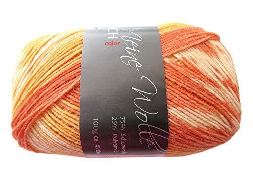 Fjord Sockenwolle Gelb 182