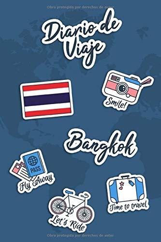 Diario de Viaje Bangkok: Diario de Viaje | 106 páginas, 15.24 cm x 22.86 cm | Para acompañarle durante su estancia.