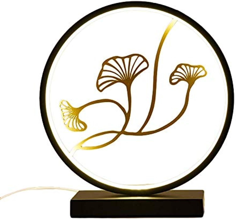 JBP max LED Lesetischlampe Schlafzimmer Nachttischlampe Warm Light Mnner Und Frauen Freunde Moderne Minimalistische Ornamente,B