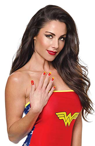 Rubies DC Comics Wonder Woman Nail Art Strips