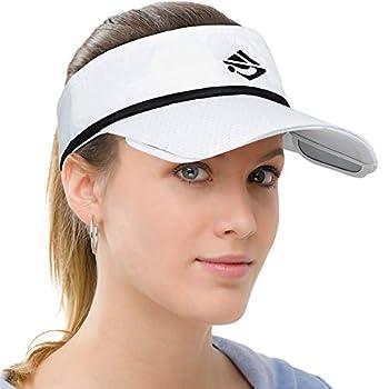 Men Women Sun Protection Sports Visor Hats Summer Wide Brim Adjustable Golf Tennis