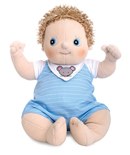 Rubens Barn 120081 zachte pop, baby Erik, groot 45 cm