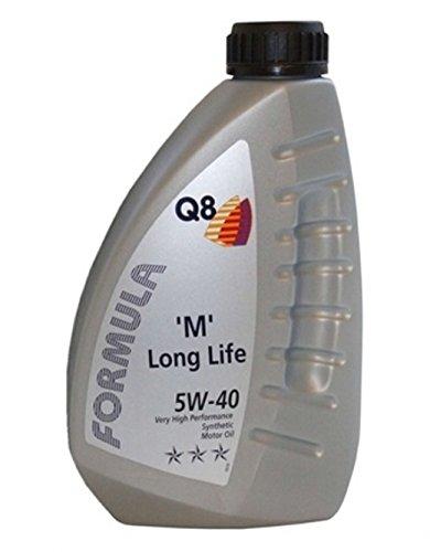 Q8 Formula M Long Life Huile moteur haute performance synthétique sae 5W-40 1 l