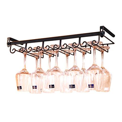Vino estante repisa metal | estante de almacenamiento montado en la pared | vaso de vino montado en la pared se puede colocar 10 copas