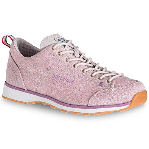 DOLOMITE Zapato WS Cinquantaquattro Lh Canvas, Chaussures Mixte Adulte, Dusty Rose, 41.5 EU