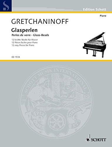 Glasperlen: 12 leichte Stücke. op. 123. Klavier. (Edition Schott)