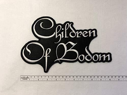 Children of Bodom Band Big Back Patch 26cm x 16,7cm / 10,24'x6,57' (Sew-On)