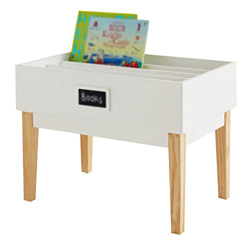Bibliothèque Étagère bibliothèque pour enfants au sol étagère bibliothèque porte-revues en bois présentoir