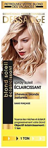 Dessange Blond Soleil Eclaircissant Spray - Pour Cheveux Blonds Naturels - Sans Rinçage - 1x 125 ml