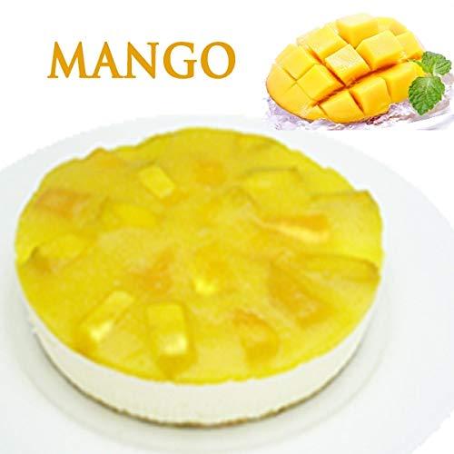 父の日 低糖質 マンゴーレアチーズケーキ(糖質74%カット 砂糖不使用 糖質制限 ケーキ 5号 父の日 スイーツ ギフト)