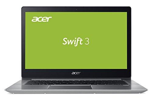Acer Swift 3 (SF314-52G-722E) 35,6 cm (14 Zoll Full-HD IPS) Ultrabook (Intel Core i7-7500U, 8 GB RAM, 512 GB PCIe SSD, NVIDIA GeForce MX150 (2 GB VRAM), Win 10) silber