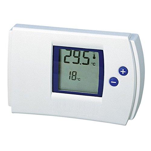 Electraline 59212 Termostato digital, color blanco