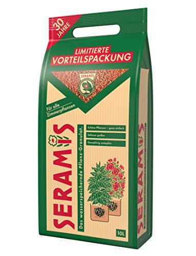 Seramis® Pflanz-Granulat für Zimmerpflanzen Retro Sonderedition, 10 Liter - Limitierte Vorteilspackung