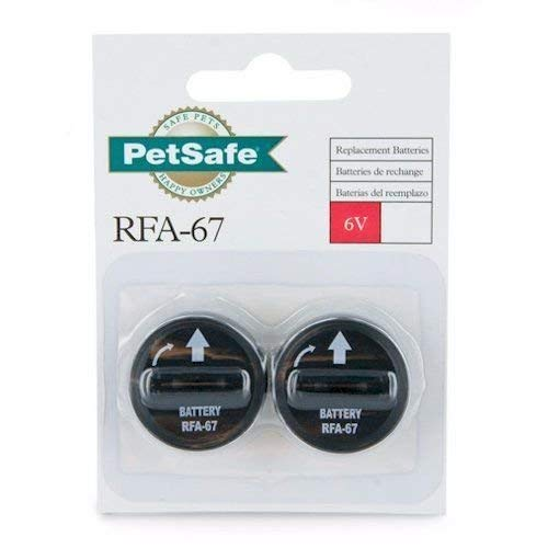 PetSafe Replacement Batteries 6 Volt (RFA-67D-11) Package of 2 Batteries