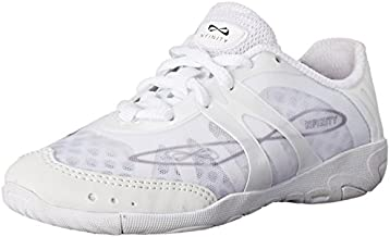 Nfinity Vengeance Cheer Shoe - Women & Youth Competition Cheerleading Gear, White, 8