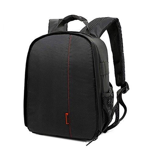 Vovotrade® sacchetto della macchina fotografica DSLR cassa impermeabile per Canon Nikon Sony (Rosso)