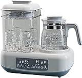 NBALL-TT Termostato de la Botella de Leche del hogar Termostato Automático Bebé Biberón Calentador Multifuncional Inteligente Aislamiento Pot