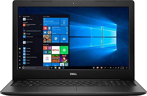 New ! Dell Inspiron i3583 15.6' HD Touch-Screen Laptop - Intel i3-8145U - 8GB DDR4-128GB SSD - Windows 10 - Wireless-AC - Bluetooth - SD Card Reader - HDMI & USB 3.1 -Waves MaxxAudio Pro- Black