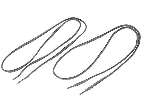 Sourcing map Femmes Hommes 112cmx0.5cm Chaussures tennis lacets corde nylon gris Chaussures Paire chaînes