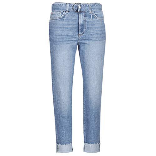 Guess The IT Girl Skinny Belt Hosen Damen Blau - US 29-3/4 Hosen & 7/8 Hosen