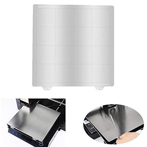 ACGGMR ender 3 pro build plate 220 * 220mm Spring Steel Sheet Heated Bed Platform For RepRap i3 Ender-3/Wanhao/Anet A8 MK3 3D Printer Part(J) ender pei