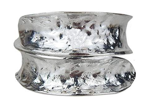 Ella Jonte Armreif Silber im Boho Ibiza Style Spangenarmband Armband verstellbar
