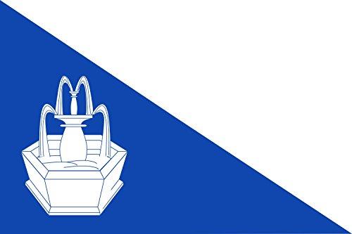 magFlags Bandera Large Rectangular de Proporciones 2 3 Dividida diagonalmente Desde lo Alto de la Vaina al Angulo Inferior del batiente   Bandera Paisaje   1.35m²   90x150cm