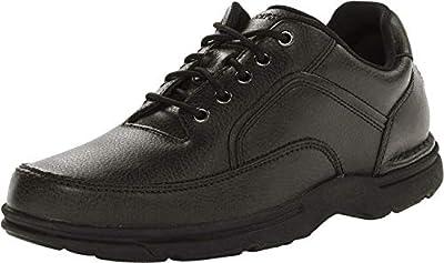 Rockport Men's Eureka Walking Shoe, Black, 10.5 D(M) US
