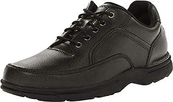 Rockport Men's Eureka Walking Shoe, Black, 7 D(M) US
