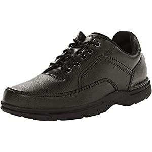 Rockport Men's Eureka Walking Shoe, Black, 10 D(M) US