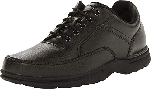 Rockport Men's Eureka Walking Shoe, Black, 8.5 2E US