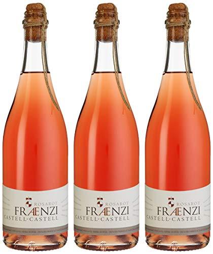 Fürstlich Castell'sches Domänenamt Fraenzi Frizzante Bavaraese Rosarot, 3er Pack (3 x 750 ml)