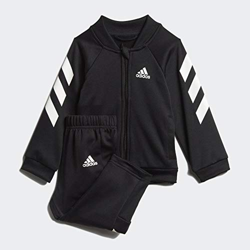 adidas Baby-Jungen I Mm Xfg Ts Trainingsanzug, schwarz/weiß, 62
