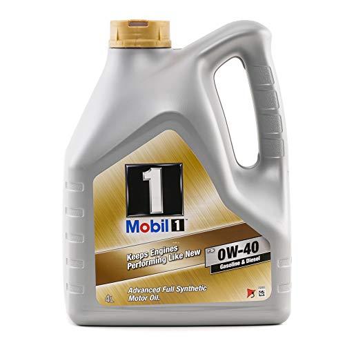 Mobil 1 Motoröl Fs 0W-40 Motorenöl Engine Oil 153687 4L
