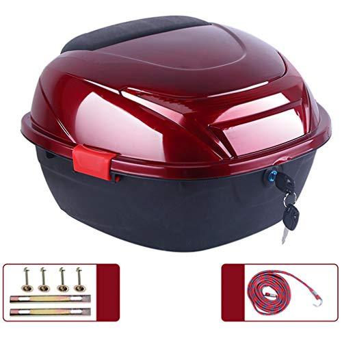 ZZXY Topcase Motorradkoffer - passend für 2 Helme, für Roller, Motorrad, Mofa & Quad