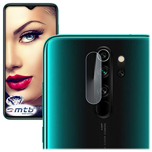 mtb more energy® Protector para cámara Trasera del Xiaomi Redmi Note 8 Pro (6.53'') de Vidrio Templado - Película Protectora Tempered Glass