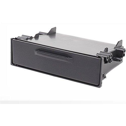 carav 11–155 Ablagefach für Autoradio Radioblende DVD Dash Installation Kit Universal mit Deckel Faszie mit 180 * 50 * 98 mm