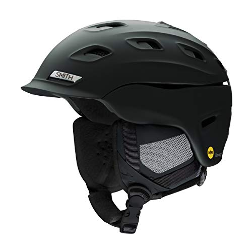 Smith Optics Vantage Womens MIPS Ski Snowmobile Helmet (Matte Black, Large)