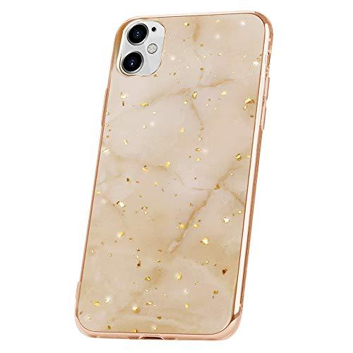 QULT Handyhülle kompatibel mit iPhone 12 Mini Hülle Marmor lila Dreieck dünn Silikon Schutzhülle TPU Bumper Hülle für iPhone 12 Mini Glanz Marble Violett