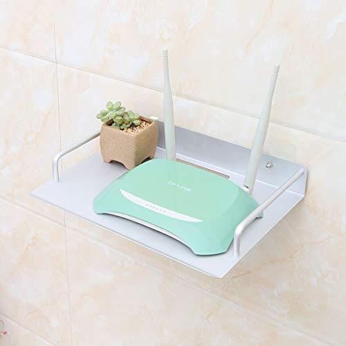 Routeur WiFi Set Top Box Etagère de rangement Etagère murale Etagère flottante Lecteur DVD Satellite Etagère pour équipement multimédia Etagère murale Meuble de télévision