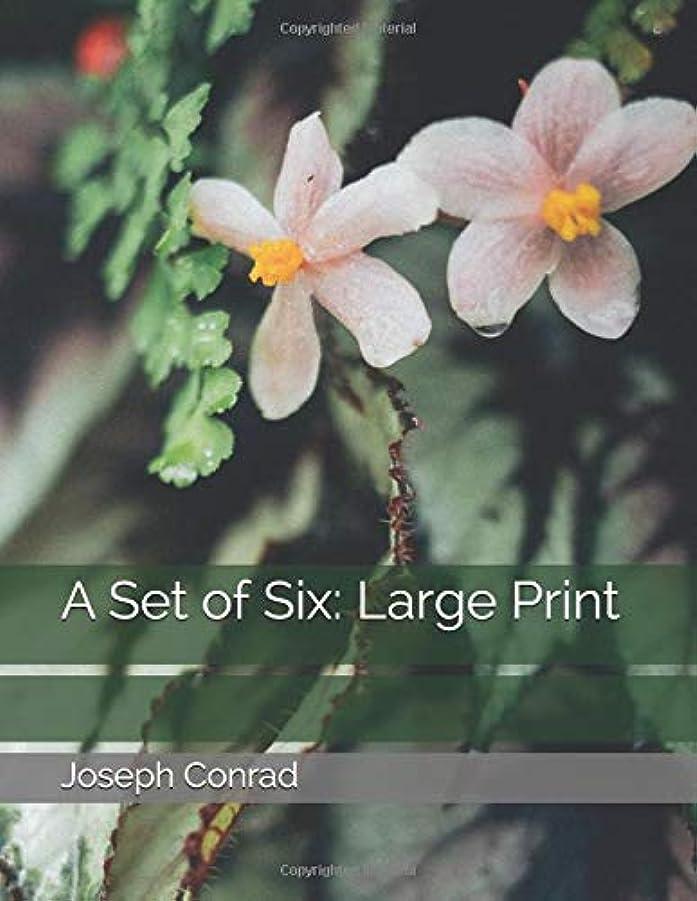 摂動ミサイルメイトA Set of Six: Large Print