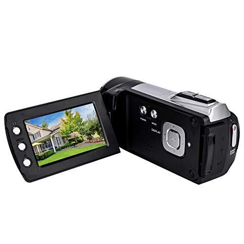 HG5162 Videocamera digitale 1080P FHD DV Camcorder/Schermo LCD TFT da 2,7' / Videocamera portatile rotante da 270 gradi per bambini/principianti/Anziani regalo di Natale